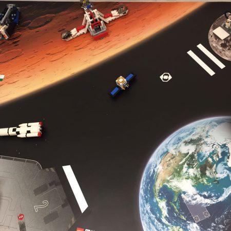 Mit den EV3-Roboter zum Weltall